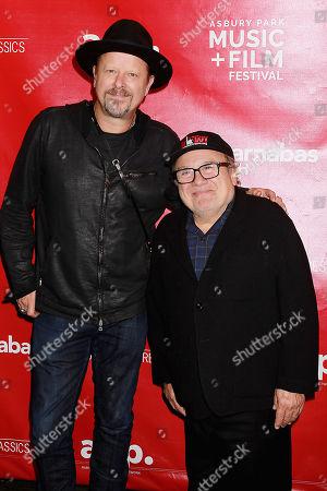 Danny Clinch and Danny DeVito