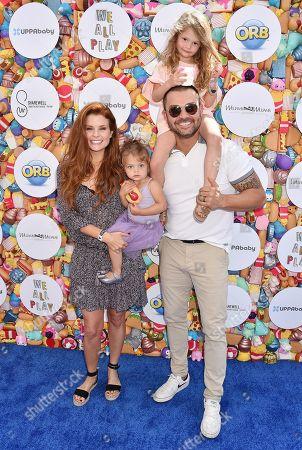 Joanna Garcia and Family