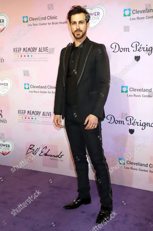 Editorial image of Power of Love Gala, Arrivals, Las Vegas, USA - 28 Apr 2018