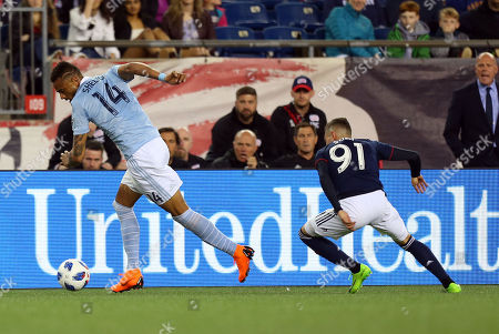 Editorial photo of MLS Sporting KC vs Revolution, Foxborough, USA - 28 Apr 2018