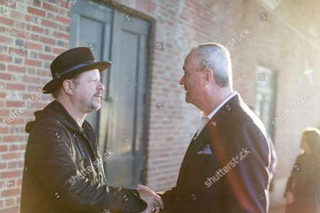 Phil Murphy, Danny Clinch. Danny Clinch, left, and New Jersey Governor Phil Murphy attend the Asbury Park Music and Film Festival at The Paramount Theatre on in Asbury Park, NJ