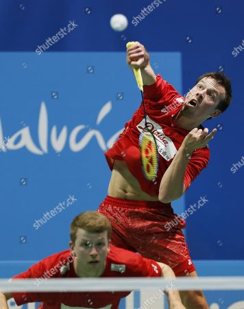 Editorial photo of European Badminton Championships in Huelva, Spain - 29 Apr 2018