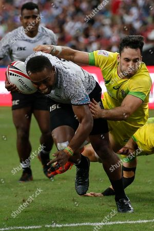 Editorial photo of HSBC World Rugby Sevens Series in Singapore - 29 Apr 2018