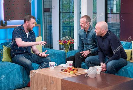 Alex Horne, Tim Lovejoy and Simon Rimmer