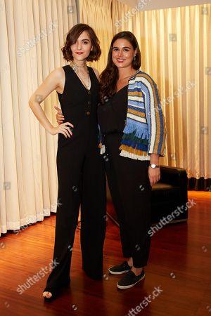 Quinn Shephard and Bridget Arsenault