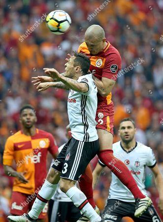Editorial photo of Galatasaray vs Besiktas, Istanbul, Turkey - 29 Apr 2018