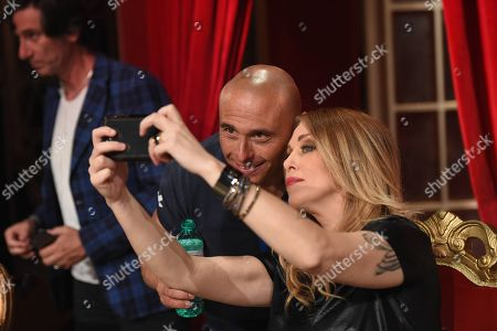 Editorial image of 'Dancing with the Stars' TV show, Rome, Italy - 28 Apr 2018