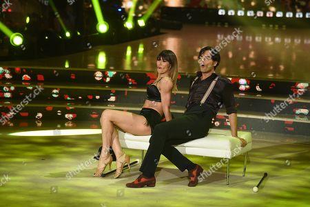 Stock Picture of Massimiliano Morra and Sara Di Vaira