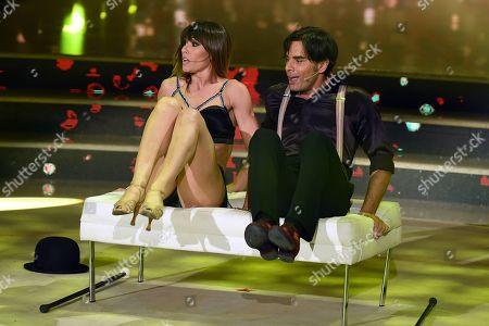 Massimiliano Morra and Sara Di Vaira
