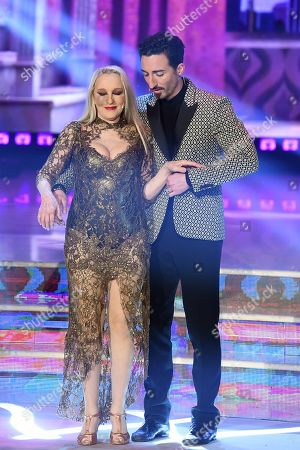 Editorial photo of 'Dancing with the Stars' TV show, Rome, Italy - 28 Apr 2018