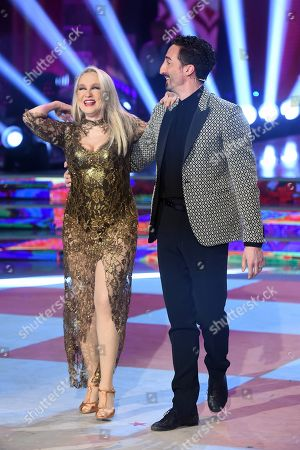 Editorial picture of 'Dancing with the Stars' TV show, Rome, Italy - 28 Apr 2018