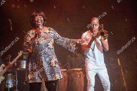 Irma Thomas, Trombone Shorty. Irma Thomas, left, and Trombone Shorty perform at the Trombone Shorty & Orleans Avenue Treme Threauxdown at the Saenger Theatre, in New Orleans