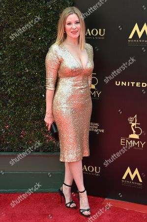 Editorial photo of 45th Annual Daytime Emmy Awards, Arrivals, Los Angeles, USA - 29 Apr 2018