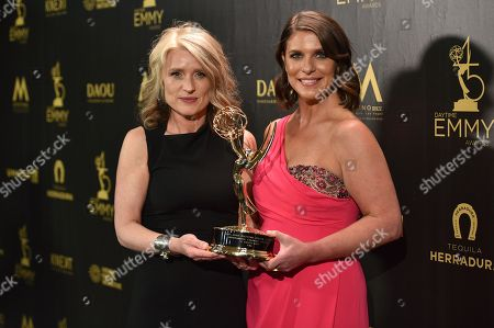 Editorial photo of 45th Annual Daytime Emmy Awards, Press Room, Los Angeles, USA - 29 Apr 2018