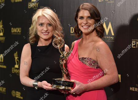 Editorial picture of 45th Annual Daytime Emmy Awards, Press Room, Los Angeles, USA - 29 Apr 2018