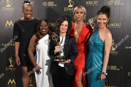 Aisha Tyler, Sheryl Underwood, Sara Gilbert, Eve and Julie Chen - Outstanding Talk Show/Entertainment - 'The Talk'