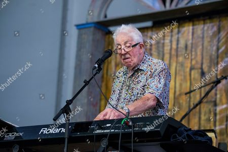 John Mayall performs at the New Orleans Jazz and Heritage Festival, in New Orleans