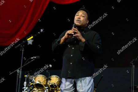 George Benson performs at the New Orleans Jazz and Heritage Festival, in New Orleans