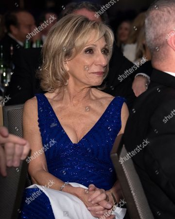 NBC News Chief Foreign Affairs Correspondent Andrea Mitchell attends the 2018 White House Correspondents Association Annual Dinner at the Washington Hilton Hotel.