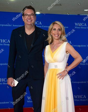 Marc Adelman and Dana Bash