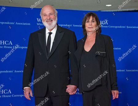 Rob Reiber and Michele Singer Reiner