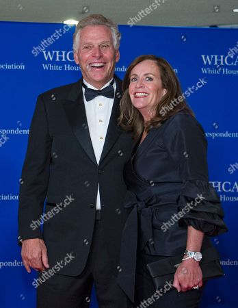 Former Governor Terry McAuliffe (Democrat of Virginia), and Dorothy McAuliffe