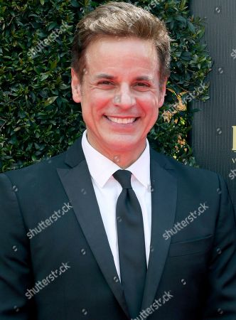Stock Photo of Christian LeBlanc arrives