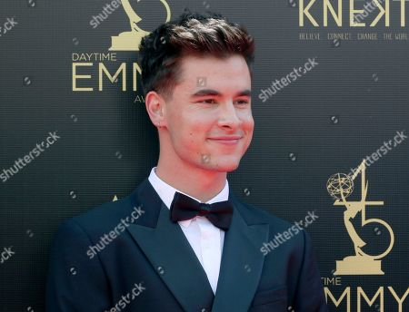 Stock Photo of Kian Lawley arrives