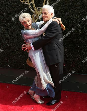 Susan Seaforth Hayes, Bill Hayes. Susan Seaforth Hayes, left, and Bill Hayes arrive