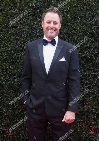 Chris Harrison arrives