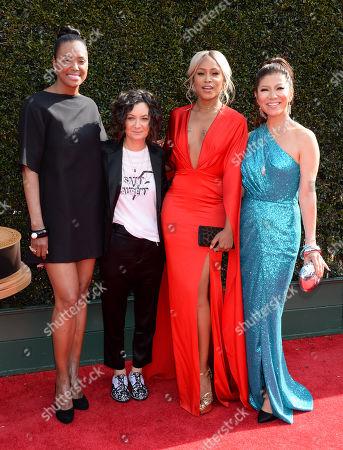 Aisha Tyler, Sara Gilbert, Eve, Julie Chen
