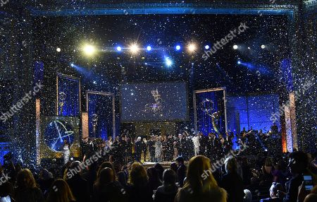 "Ken Corday. The cast and crew of ""Days of Our Lives"" accept the award for outstanding drama series at the 45th annual Daytime Emmy Awards at the Pasadena Civic Center, in Pasadena, Calif"