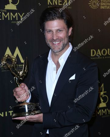 Editorial photo of 45th Annual Daytime Emmy Awards - Press Room, Pasadena, USA - 29 Apr 2018