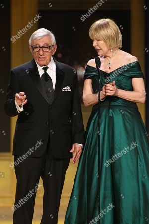 Stock Photo of Jamie Farr, Loretta Swit