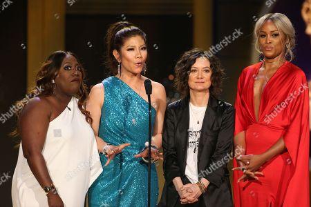 Sheryl Underwood, Julie Chen, Sara Gilbert, Eve
