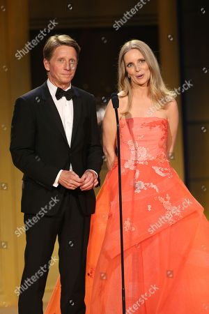 Stock Photo of Brad Bell, Lauralee Bell