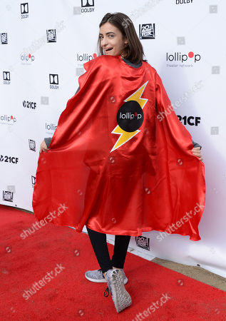 Editorial picture of 2nd Annual Lollipop Superhero Walk, Los Angeles, USA - 29 Apr 2018