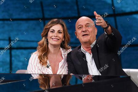 Vanessa Incontrada and Claudio Bisio