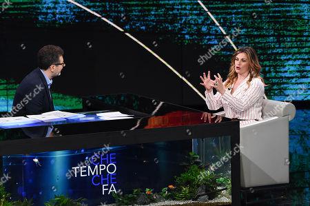 Fabio Fazio and Vanessa Incontrada