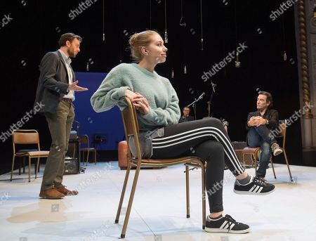 Pip Carter as Ramsey, Seana Kerslake as Cat, Ben Chaplin as Bernard,