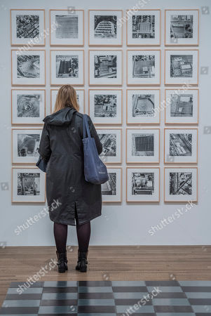 Editorial image of 'Shape of Light: 100 Years of Photography and Abstract Art' exhibition at Tate Modern, London, UK - 30 Apr 2018