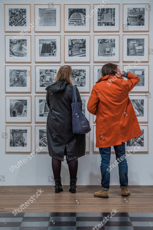 Editorial photo of 'Shape of Light: 100 Years of Photography and Abstract Art' exhibition at Tate Modern, London, UK - 30 Apr 2018