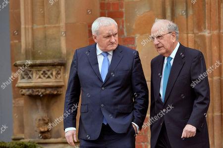 Senator George Mitchell, Bertie Ahern