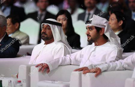 World Free Zones Organization conference Dubai Stock Photos