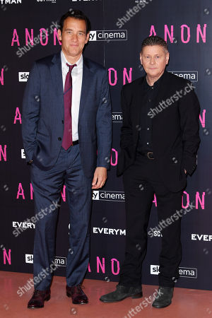 Editorial picture of 'Anon' film screening, Arrivals, London, UK - 30 Apr 2018