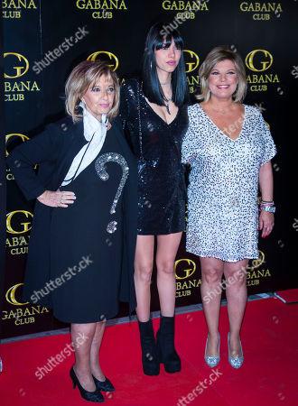 Terelu Campos, Alejandra Rubio and Maria Teresa Campos
