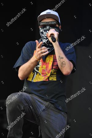 Editorial picture of Fort Rock Music Festival at Markham Park, Sunrise, Florida, USA - 29 Apr 2018