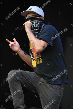 Stock Photo of Hollywood Undead - Jordan ' Charlie Scene ' Terrell