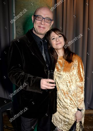 Stock Photo of Noel Langley and Yazz Ahmed