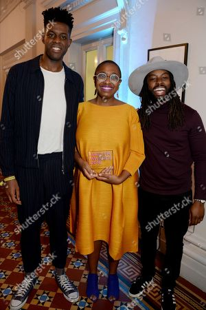 Ashley Henry and Cecile McLorin Salvant with guest